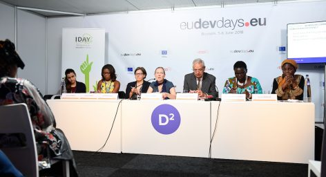 IDAY aux European Development Days 2018