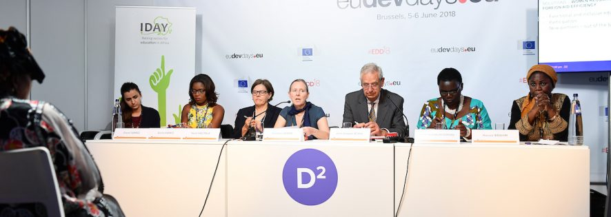 IDAY at the European Development Days 2018