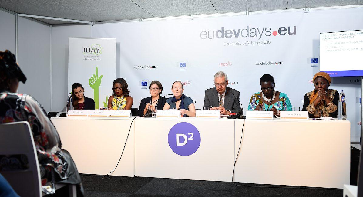 IDAY at the European Development Days 2018