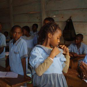 57. Jardins scolaires pour une éducation de qualité au Cameroun.