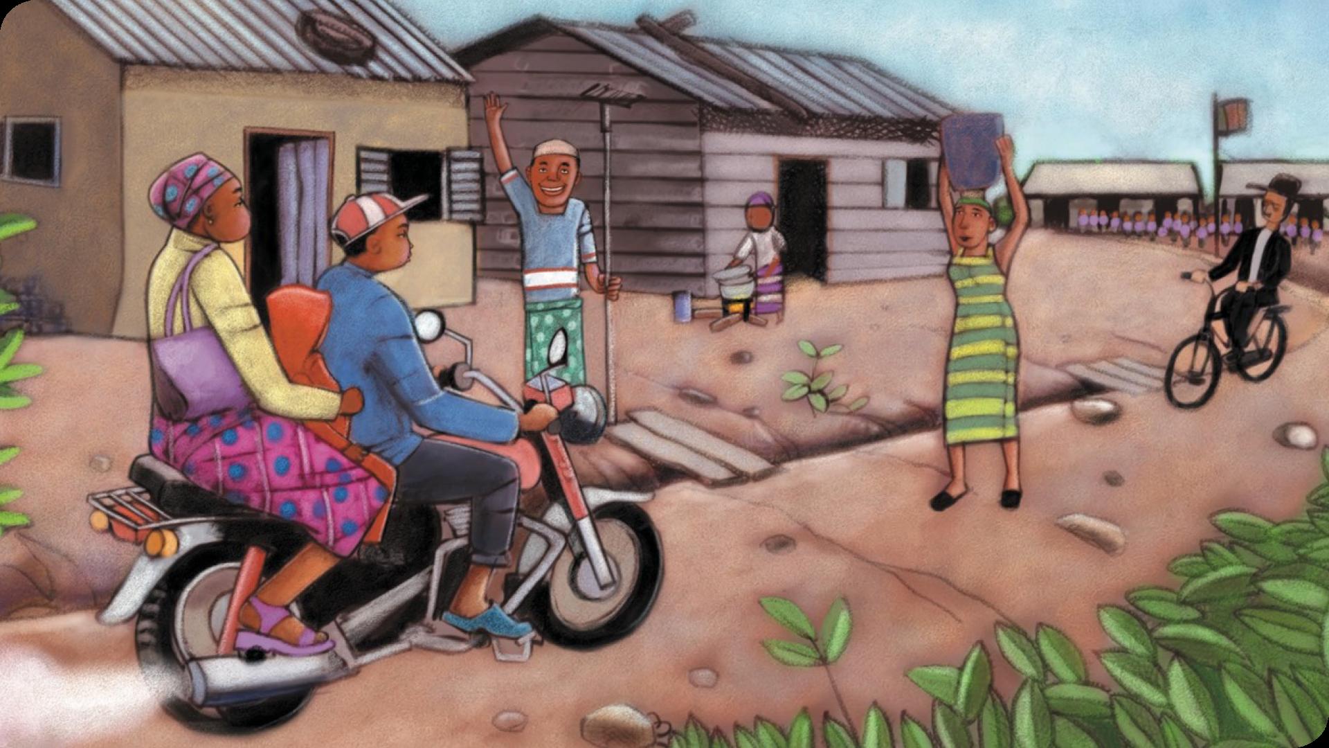 Yanou a le palu - Campagne de financement participatif