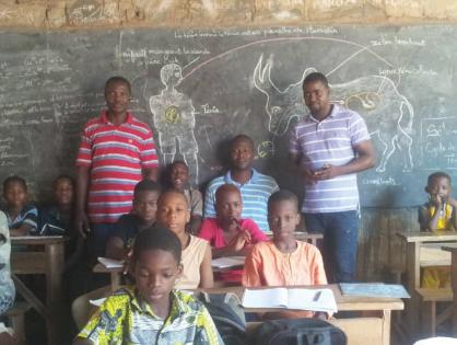 Des nouvelles du Togo soutenu par les Bossut Riders