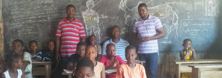 News from Togo supported by the Bossut Riders