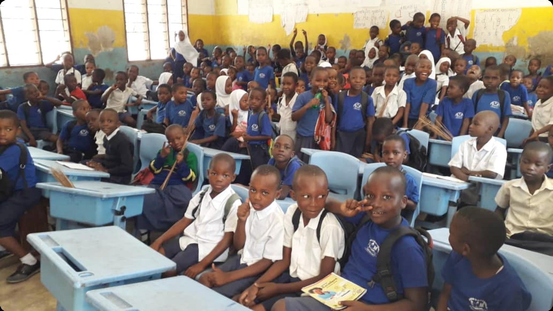School Hygiene and Sanitation in Tanzania