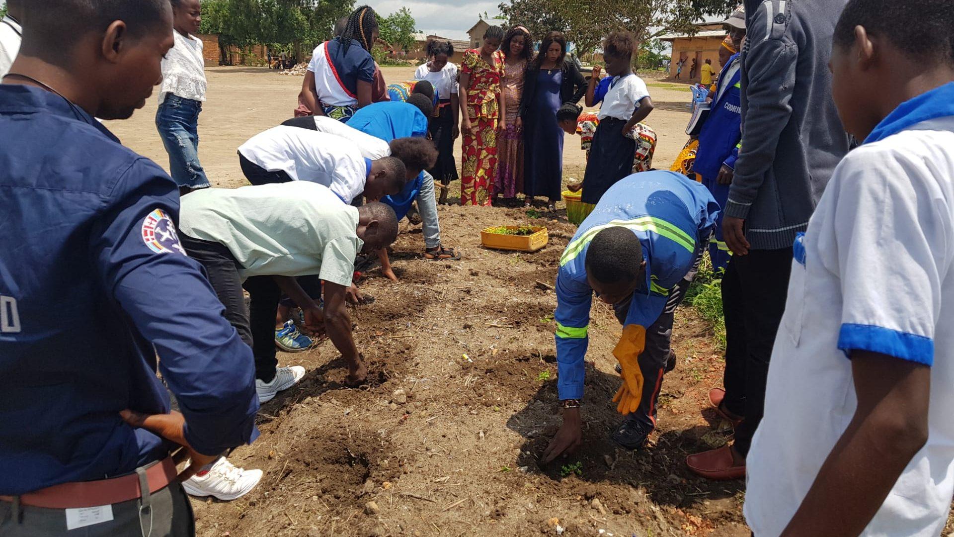 Ferme-école écologique dans le Kongo Central