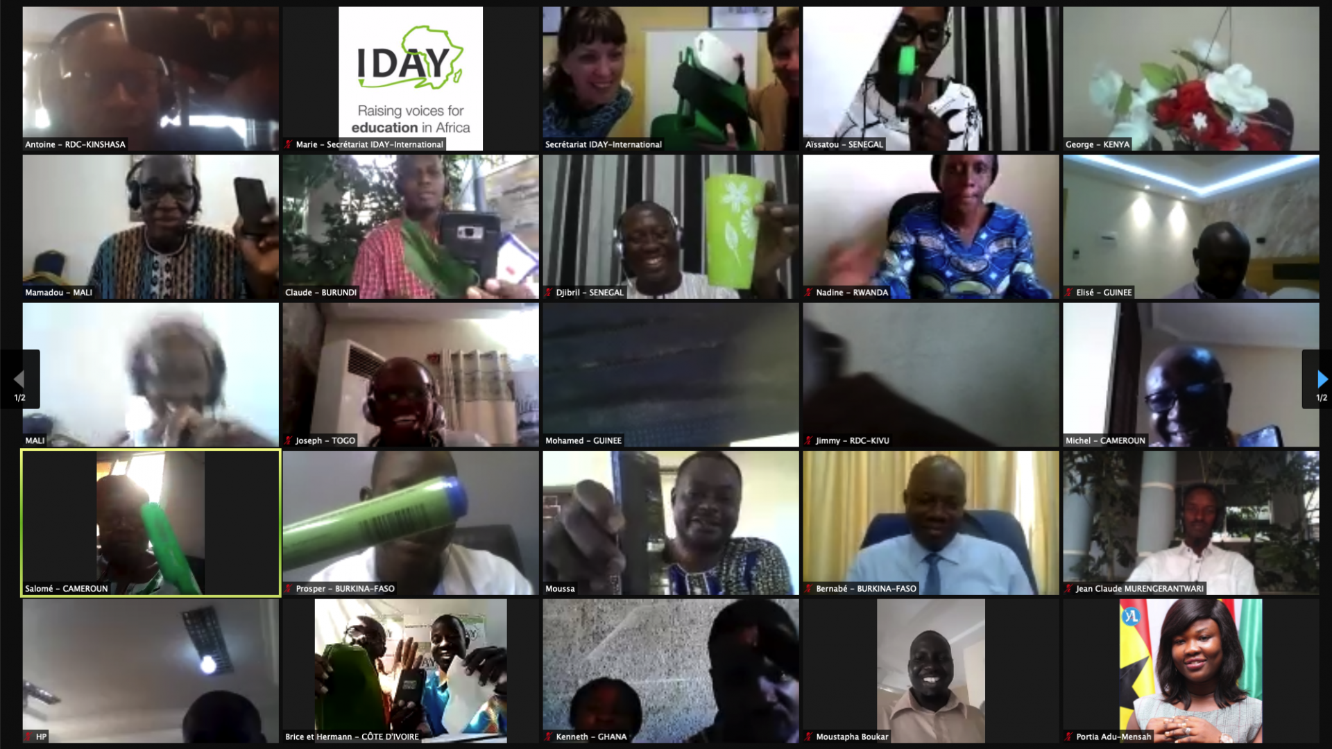 General Assembly of the IDAY Network and new Board of Directors