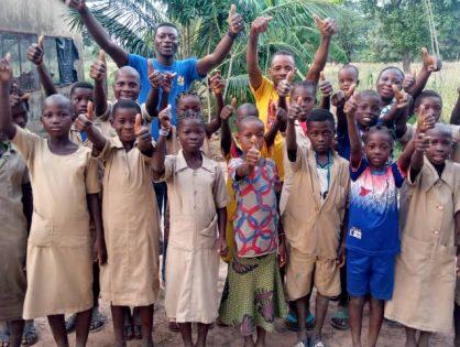 News from the school garden project in Benin